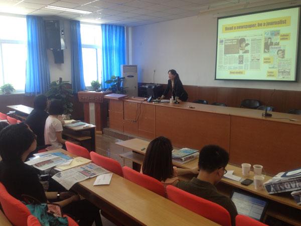 中国日报21世纪英文报学通社社会实践
