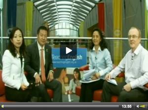 中国代表团访谈:刘骏教授、金艳教授、欧阳文