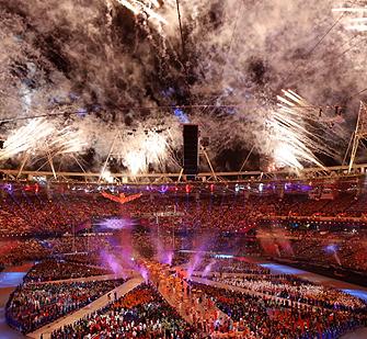 2012伦敦奥运会闭幕
