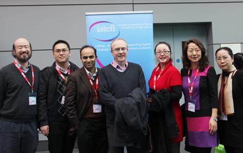英国大使馆文化教育处组织的中国代表团部分
