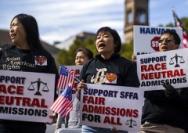 """哈佛因""""歧视亚裔""""走上被告席"""