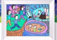 """""""小朋友画廊""""一元购画公益项目引争议"""