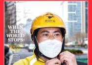 中國外賣小哥登《時代周刊》封面