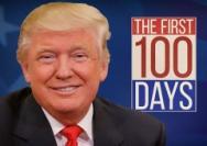 """特朗普的""""百日成绩单"""""""