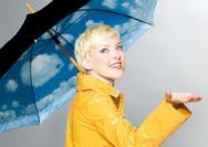时尚雨伞让下雨天不再单调